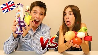 BRITISH CANDY vs REAL FOOD!!