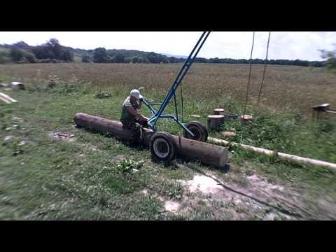 Телега для квадроцикла видео