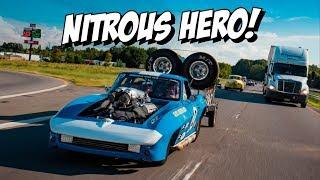 Insane NITROUS street car! Dave Schroeder