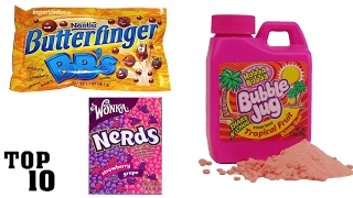 Top 10 Discontinued Candy We All Miss