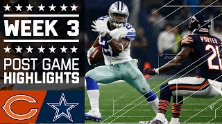 Bears vs. Cowboys (Week 3) | Post Game Highlights | NFL