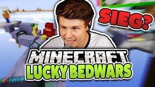MEIN ERSTER SIEG?   Minecraft LUCKY BEDWARS   Dner & Kev
