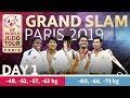 Grand-Slam Paris 2019: Day 1