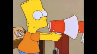 BART BAMBAM ENLOUQUECENDO COM O MEGAFONE!