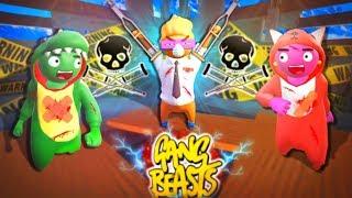 So hat man RICHTIG Spaß! | Gang Beasts - (Jackass Edition)