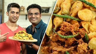 Bhajia Recipe | How To Make Homemade Bhajias | Varun Inamdar feat. Fitness Special with Royston