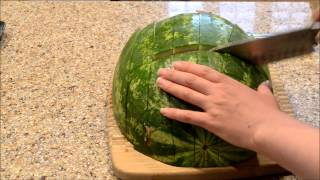 Cut and Cube a Watermelon in minutes
