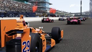 Forza 6 | RACING THE INDY 500: Fernando Alonso