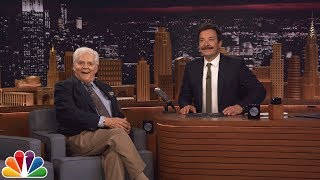 Jimmy Honors 92-Year-Old Audience Member Who Was a Guest on Johnny Carson