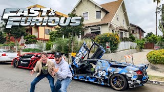 """WE TOUR FAST & FURIOUS LOCATIONS WITH """"JESSE"""" IN LA! *OVERNIGHT PARTS FROM JAPAN*"""