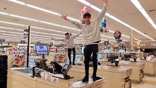 24 HOURS IN GROCERY STORE (DON