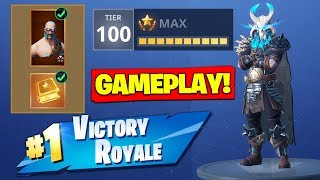 *NEW* SEASON 5 TIER 100 SKIN *GAMEPLAY* In Fortnite Battle Royale!