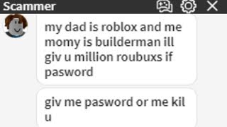 TROLLING A ROBLOX SCAMMER!  #5