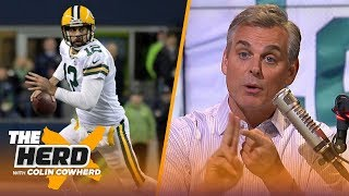 Colin Cowherd blames Aaron Rodgers for the Packers