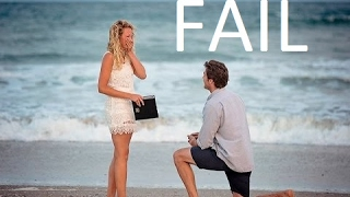 MARRIAGE PROPOSAL FAIL COMPILATION   Girl Says No