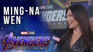 Agents of S.H.I.E.L.D. Ming-Na Wen LIVE at the Avengers: Endgame Premiere