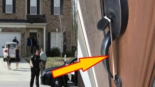 If You Spot A Rubber Band On Your Front Door Handle, DON