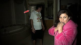 OUR NEW HOUSE IS HAUNTED... (WE CAUGHT THIS ON CAMERA)