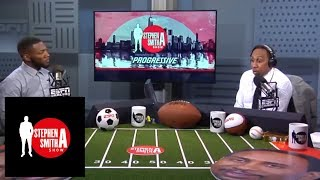 Ryan Clark surprises Stephen A. by putting Giants over Cowboys | The Stephen A. Smith Show | ESPN