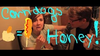 My Drunk Kitchen: Baked Corn Dogs with Hank Green