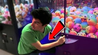 NEVER DO THIS AT THE ARCADE!!
