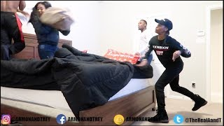 CAUGHT GETTING T0P FROM YOUR GIRLFRIEND PRANK ON PERFECTLAUGHS!!!