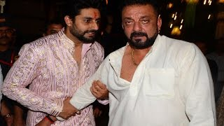 Sanjay Dutt arrives Drunk at Amitabh Bachchan