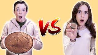 GIANT vs MINI PEANUT BUTTER CUP!!