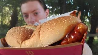 My First McRib from McDonald