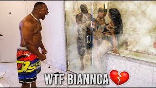 CAUGHT IN THE SHOWER PRANK WITH TWIN SISTERS 💔
