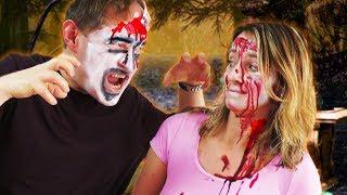 Wenn Kinder die Eltern zu Halloween schminken... 👻 TipTapTube