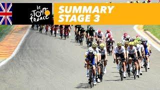 Summary - Stage 3 - Tour de France 2017