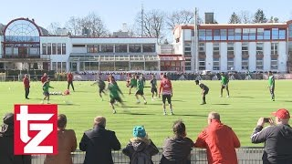 Während Länderspielpause: Verbliebene FC-Bayern-Stars fleißig