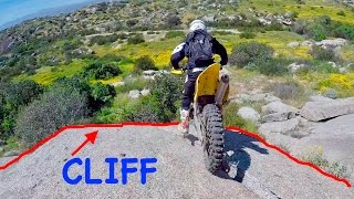 CLIFF JUMP GOES HORRIBLY WRONG!! (BROKEN BALLS)
