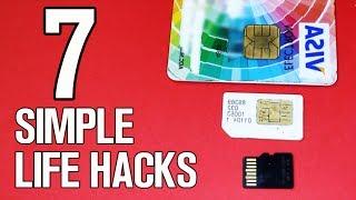 7 Simple Life Hacks & Ideas