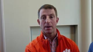 TigerNet.com - Dabo Swinney on 2017 Pro Day