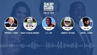 UNDISPUTED Audio Podcast (6.20.18) with Skip Bayless, Shannon Sharpe, Joy Taylor | UNDISPUTED