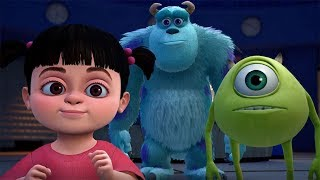 KINGDOM HEARTS 3 – D23 Expo Japan 2018 Monsters, Inc. Trailer (English Subs)