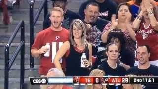 Crotch Grab Atlanta Falcons Fan 9 18 14