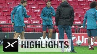 Cristiano Ronaldo: Erst Tunnel, dann Jubel-Tänzchen   Real Madrid   Champions League