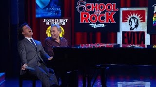 Stephen Gets His Show Tune On With Andrew Lloyd Webber