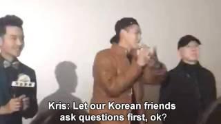 【Eng sub】Kris Wu answer Korean fans questions in Korean