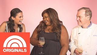 """Donna Off-Air: """"Nailed It!"""" Host Nicole Byer And Judge Jaques Torres 