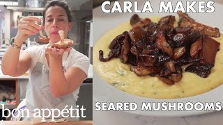 How to Sear Mushrooms to Crispy Golden Perfection   Bon Appetit