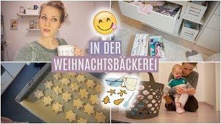 Vlogmas #20 ❘ Die ZEIT RENNT! ❘ Plätzchen backen ❘ Kleidung sortieren I MsLavender