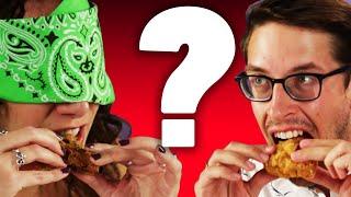 People Try Deep-Fried Mystery Food