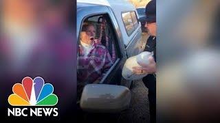 Police Give Turkeys, Not Tickets   NBC News