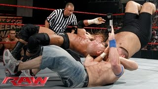 Cena vs. Orton vs. Triple H vs. Big Show — Fatal 4-Way WWE Championship Match: Raw, June 15, 2009