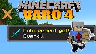 Overkill Achievement :D! - Minecraft VARO 4 #36