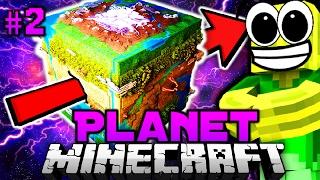 SPRUNG DURCH den PLANETEN?! - Minecraft Planet #02 [Deutsch/HD]
